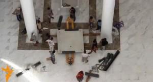 У новому соборі УГКЦ у Києві змонтували престол