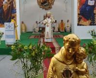 Блаженніший Святослав взяв участь в урочистій Літургії з нагоди перебування мощів святого Антонія