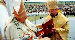 Блаженний Папа Іван Павло ІІ подарував чашу для Патріаршого собору