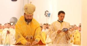 Блаженніший Святослав освятив Патріарший собор Воскресіння Христового