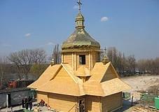 Біля собору буде освячено новозбудований храм