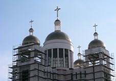 Будівництво Патріаршого собору планується завершити восени 2010 року