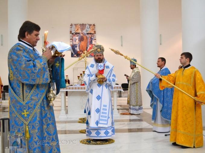 Глава УГКЦ привітав священиків і семінаристів, які прибули послужити людям на Майдані