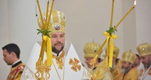 У Патріаршому соборі Воскресіння Христового відбувся Чин архиєрейської хіротонії владики Василя (Тучапця)