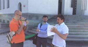 Журналісти з Італії зацікавилися скандалом навколо новобудови, що неподалік Патріаршого Собору