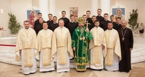 У Патріаршому Соборі відбулись облечини братів-семінаристів 1-го курсу