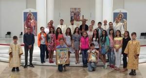 Молодь Стрийської єпархії здійснює паломництво до Києва