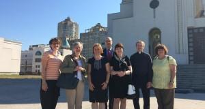В патріаршому соборі молились представники німецької благодійної організації «Допомога Церкві в потребі»