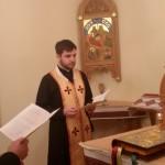 Настоятель Патріаршого собору взяв участь умолитовних чуваннях при монастирі Сестер Служебниць у Києві