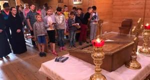 При Патріаршому Соборі проводять дитячий табір «Веселі канікули з Богом»
