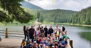 Діти Патріаршого Собору взяли участь у духовно-відпочинковому таборі Карпат