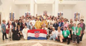 У Патріаршому соборі молилися паломники з Хорватії