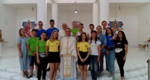 Молоді прочани із м. Добромиль відвідала Собор Воскресіння Христового