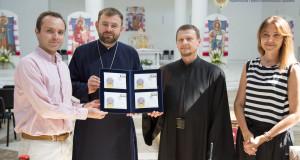 У Патріаршому Соборі відбулася унікальна презентація поштової марки «Собор Святої Софії в Римі».