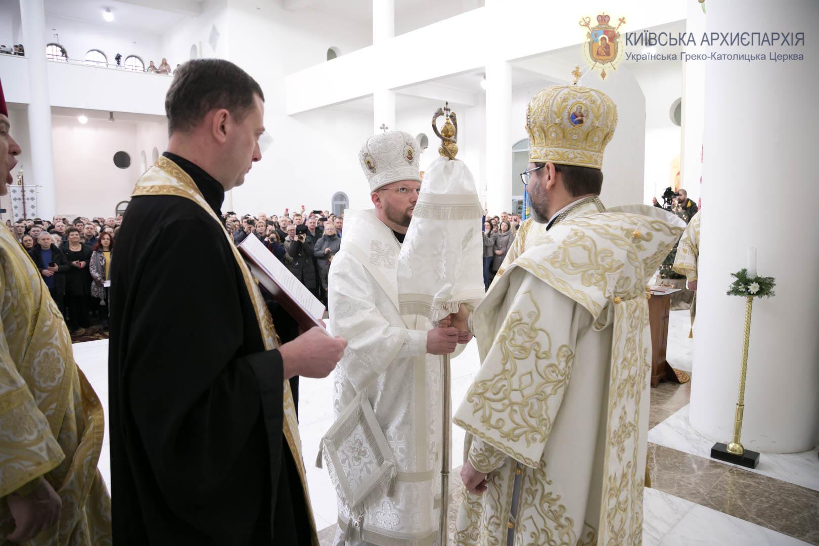 У Києві відбулася архиєрейська хіротонія владики Степана Суса